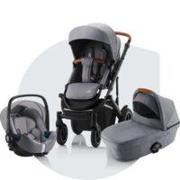 SMILE III Comfort – 2-i-1 barnvagnspaket