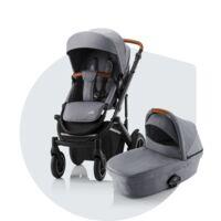 SMILE III Essential – barnvagn med sitt- & liggdel